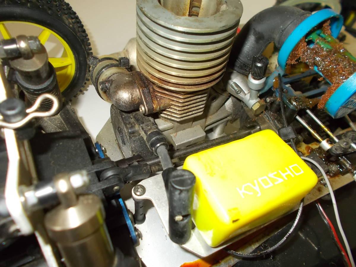O-3631 ジャンク エンジン式レーシングカー_画像7