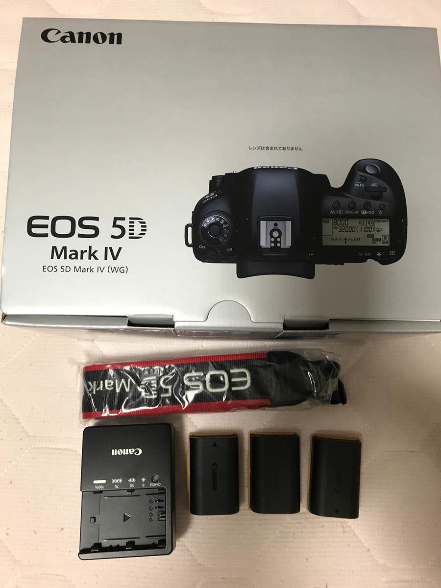 【Canon】キヤノン『EOS 5D Mark IV ボディー』EOS5DMK4 3040万画素 フルサイズ