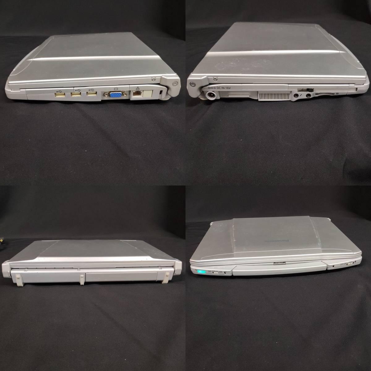 B14m12H Panasonic ノートパソコン レッツノート CF-F9 Let's note Windows10 Pro Core i5 メモリ4GB F9 CF-F9LWFJDS _画像6