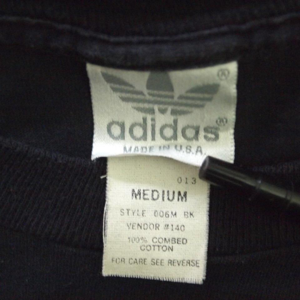 [M] 90s adidas プリント Tシャツ USA製 アディダス トレフォイル ビンテージ vintage 90年代_画像5