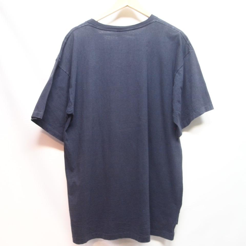 [M] 90s adidas プリント Tシャツ USA製 アディダス トレフォイル ビンテージ vintage 90年代_画像2
