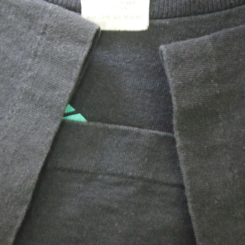 [M] 90s adidas プリント Tシャツ USA製 アディダス トレフォイル ビンテージ vintage 90年代_画像6