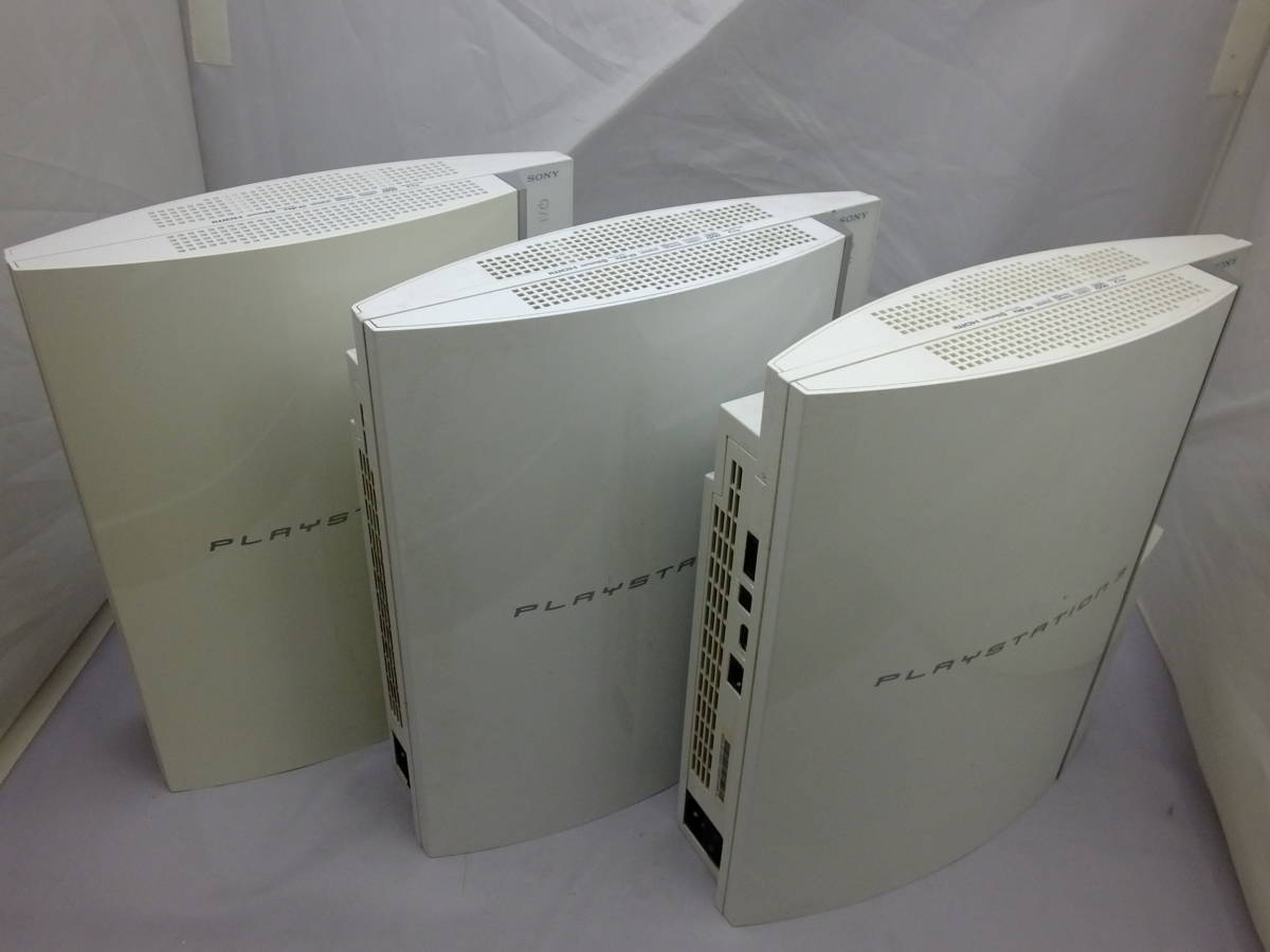 25_K799)[ジャンク]PS3本体 厚型 初期型 CECHA00 CECHH00 合計5台 まとめ売り_画像4