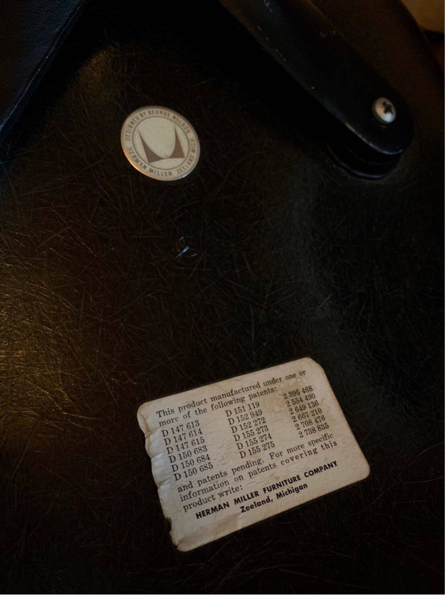 製造期間わずか数年 ジョージネルソン DAF チェア SWAG LEG ハーマンミラー製ビンテージ 検)イームズ プルーヴェ イサムノグチ 柳宗理_画像7