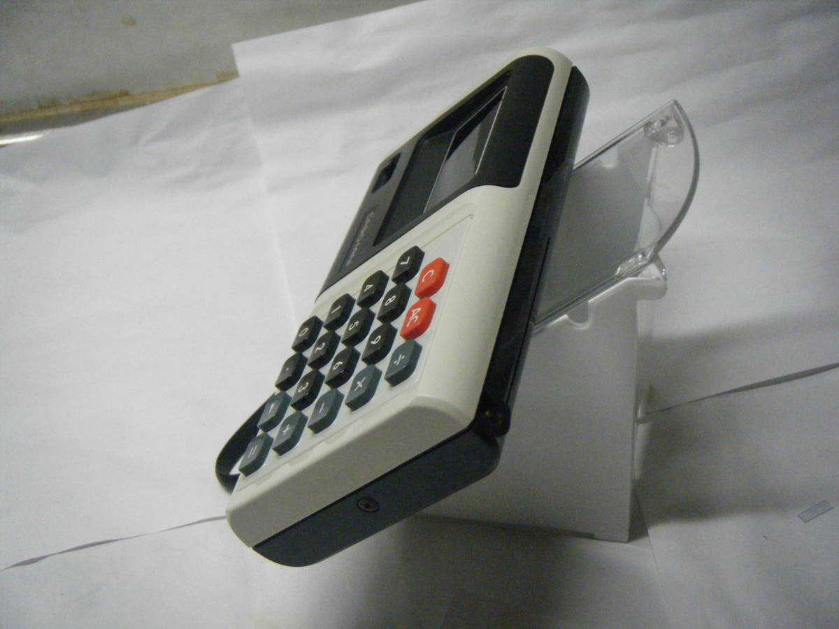 CASIO 電卓 「CASIO-MINI」CM-604 昭和レトロ 計算機 蛍光管表示 アンティーク VFD表示 古い_画像4