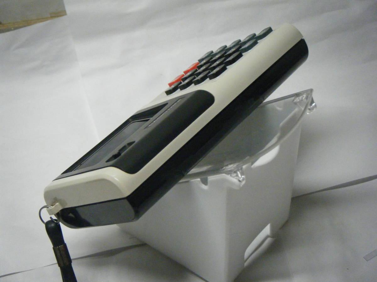 CASIO 電卓 「CASIO-MINI」CM-604 昭和レトロ 計算機 蛍光管表示 アンティーク VFD表示 古い_画像5