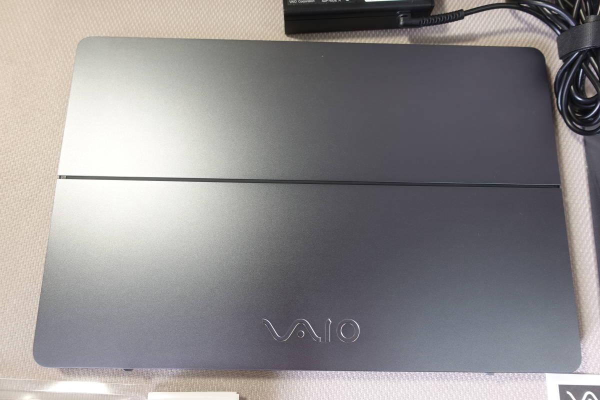 【送料込】VAIO Z・フリップモデル、VJZ13A1◆512GB・SSD ◆メモリ16GB◆Win10(8.1) home◆Core i7-5557U・3.10GHz