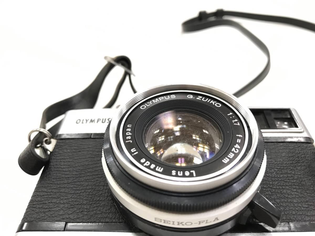 【19327】OLYMPUS -35 SP G.Zuiko 1:1.7 f=42mm フィルム カメラ_画像3