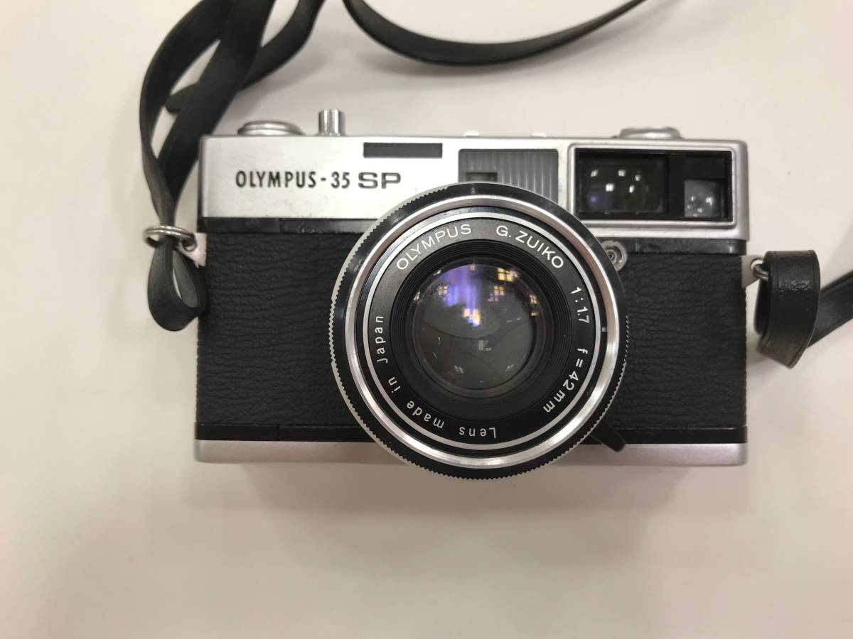 【19327】OLYMPUS -35 SP G.Zuiko 1:1.7 f=42mm フィルム カメラ_画像2