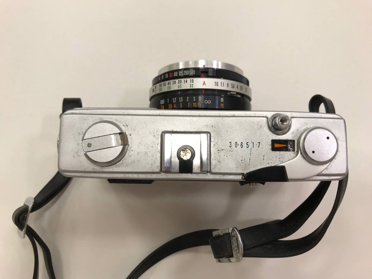 【19327】OLYMPUS -35 SP G.Zuiko 1:1.7 f=42mm フィルム カメラ_画像4
