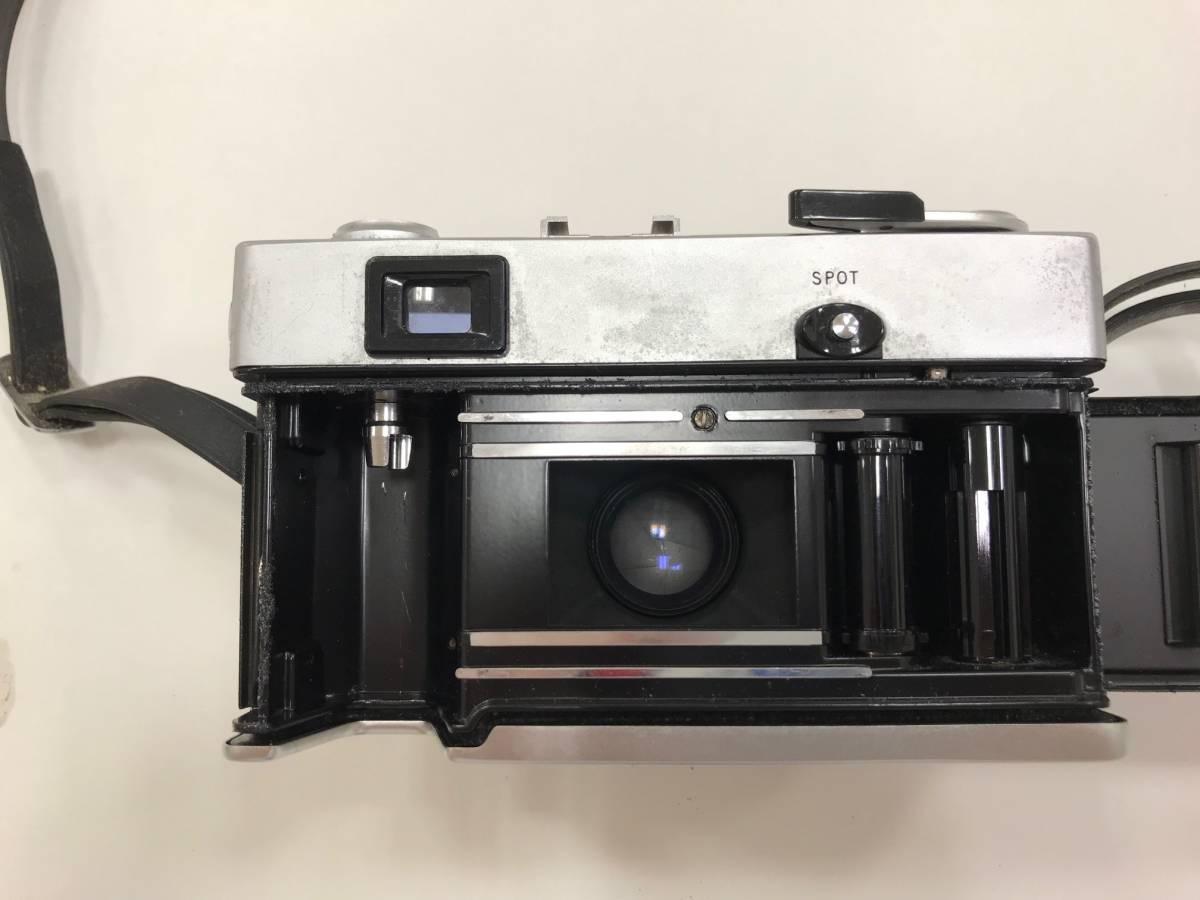 【19327】OLYMPUS -35 SP G.Zuiko 1:1.7 f=42mm フィルム カメラ_画像6