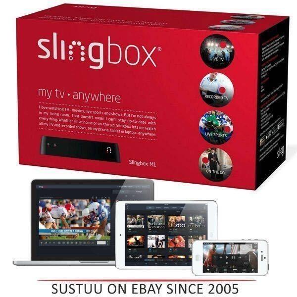 【新品】★送料無料★ 変換プラグ付★Sling Media Slingbox M1 スリングボックス 遠隔視聴 リモート視聴_画像2