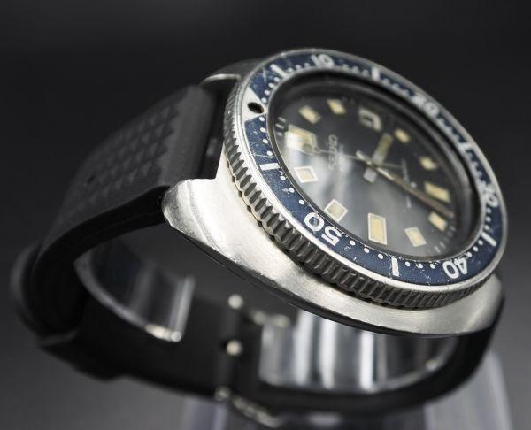●即納 送料無料●希少★交換部品付属★70年代 SEIKO セイコー セカンドダイバー 6105-8110 植村直己モデル 150m ビンテージ メンズ 腕時計_画像4