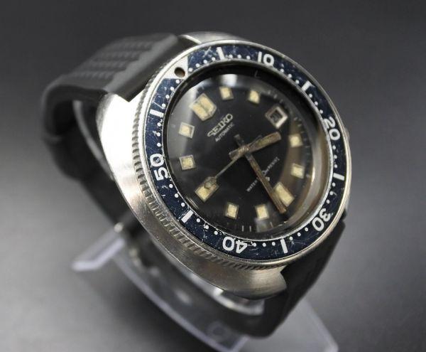 ●即納 送料無料●希少★交換部品付属★70年代 SEIKO セイコー セカンドダイバー 6105-8110 植村直己モデル 150m ビンテージ メンズ 腕時計_画像3