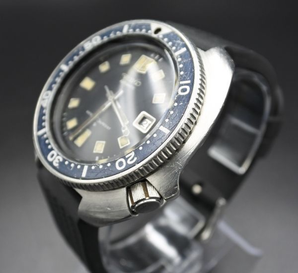 ●即納 送料無料●希少★交換部品付属★70年代 SEIKO セイコー セカンドダイバー 6105-8110 植村直己モデル 150m ビンテージ メンズ 腕時計_画像2