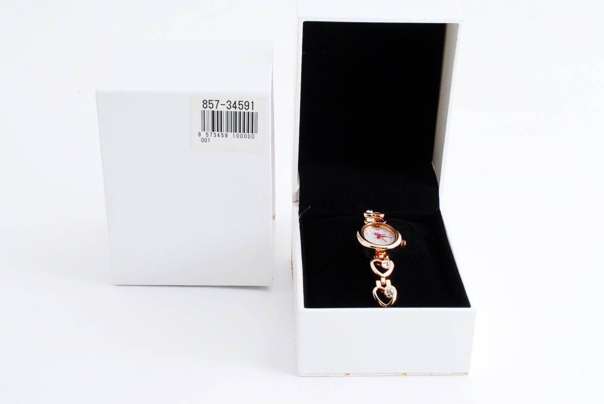 Disney Diesny Minnie Mouse WMK-D05 Shell Shaped Shaped Box Ladies Quartz Wrist Watch ★ Battery Replaced ★