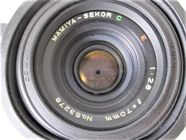 03KFN 【美品】 mamiya 645 マミヤ M645 1000S MAMIYA-SEKOR C 80mm 1:2.8 f=70mm No.53278 中判カメラ フィルムカメラ レトロ _画像5