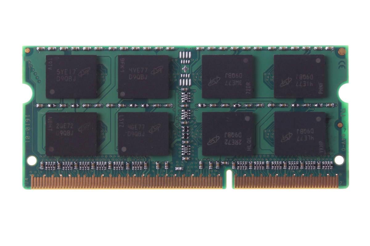 新品未使用 Micron マイクロン 16GB(8GB×2枚) DDR3L 1600MHz PC3L-12800S SODIMM 204pinラップトップメモリRAM 送料無料_画像2