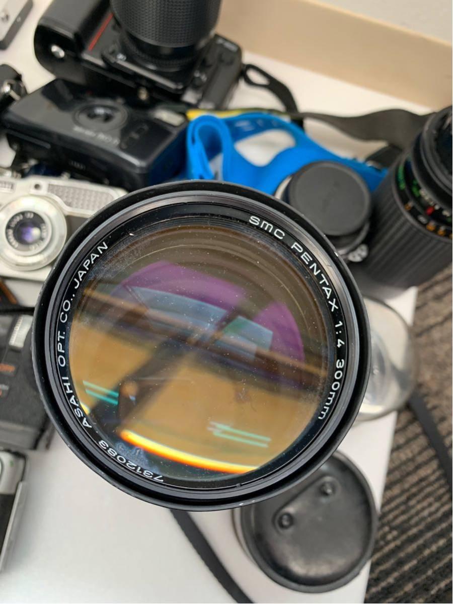 カメラ まとめ売り 17台 konica ヤシカ minolta 等 コンパクトカメラ 一眼レフ+オマケ付き_画像5