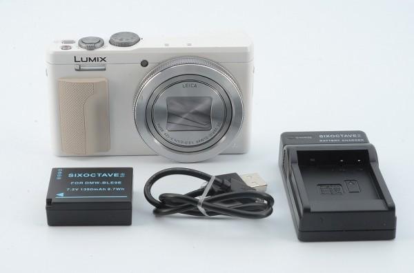 *一円出品売り切り!* Panasonic LUMIX DMC-TZ85 パナソニック コンパクトデジタルカメラ バッテリー、チャージャー付 #411