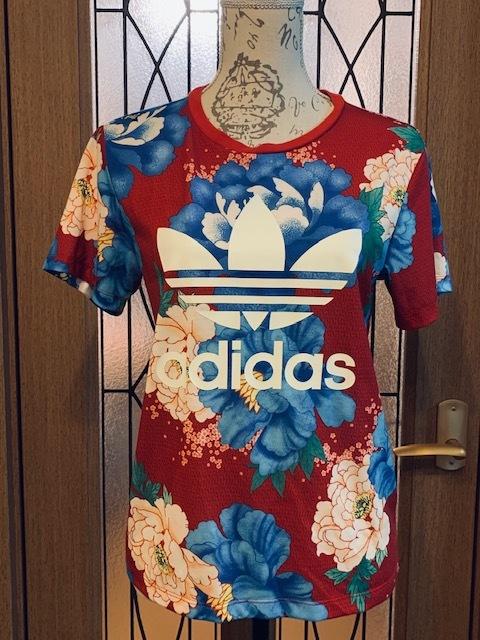 送料無料◆adidas Originals アディダスオリジナルス Tシャツ◆THE FARM COMPANYファームカンパニー◆花柄