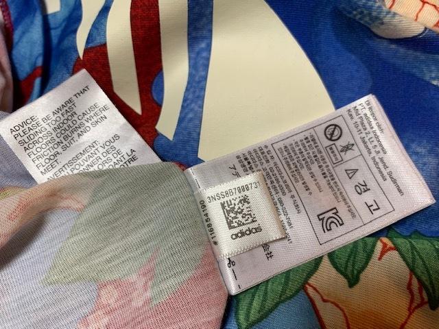 送料無料◆adidas Originals アディダスオリジナルス Tシャツ◆THE FARM COMPANYファームカンパニー◆花柄_画像5