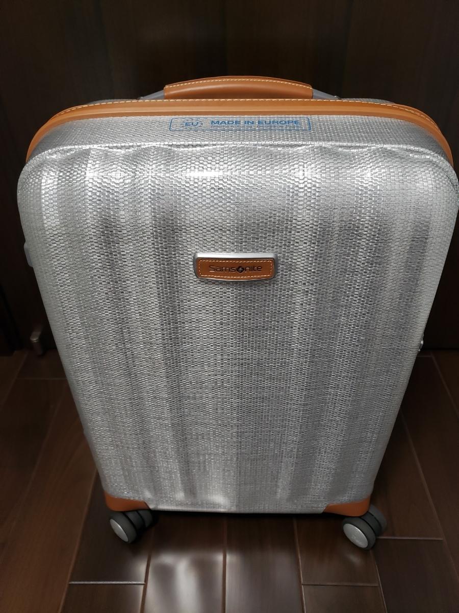 Samsonite 売切り♪サムソナイト ライトキューブデラックス スピナー 55 アルミニウム 36.5L 4輪 機内持込み ハード ビジネス スーツケース