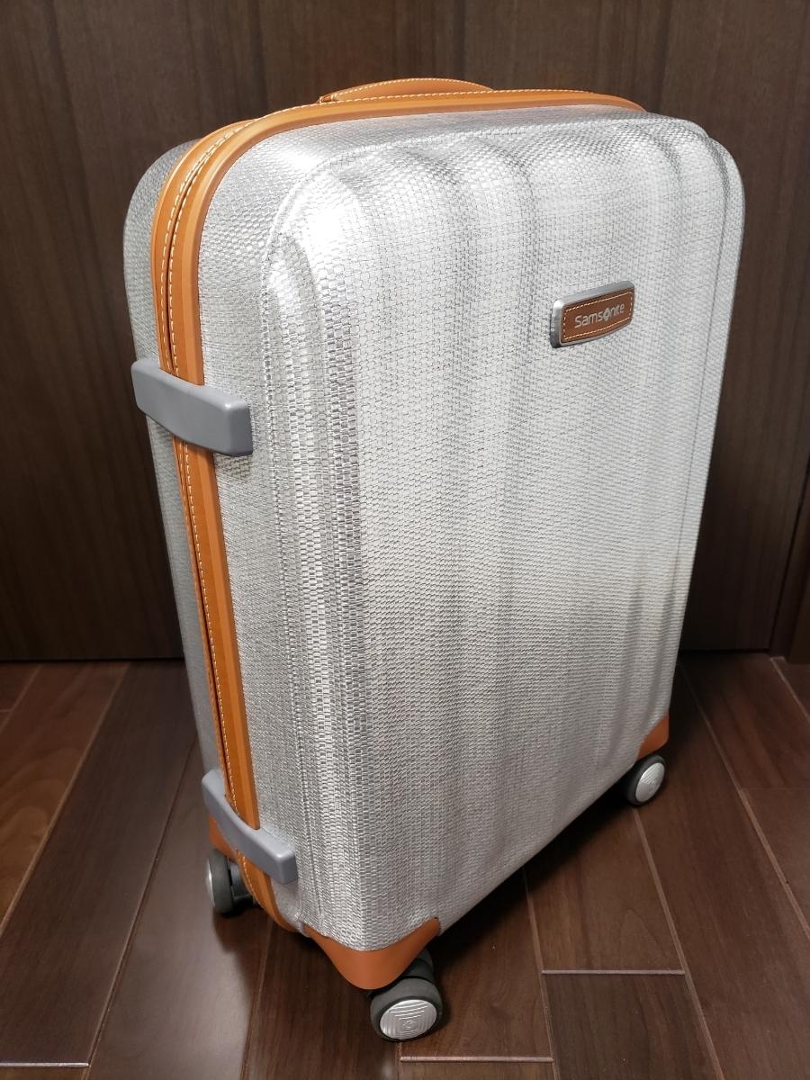 Samsonite 売切り♪サムソナイト ライトキューブデラックス スピナー 55 アルミニウム 36.5L 4輪 機内持込み ハード ビジネス スーツケース_画像5