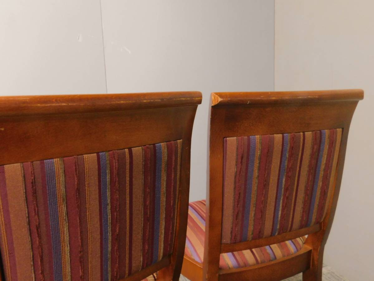 ◆自社便対応地域あり◆管938◆業務用◆相合家具製◆ダイニングチェアー4脚セット_画像8