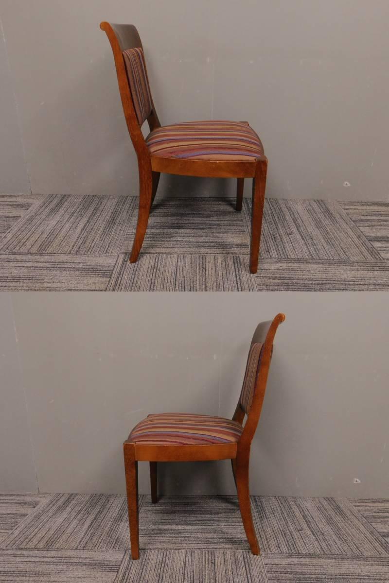 ◆自社便対応地域あり◆管938◆業務用◆相合家具製◆ダイニングチェアー4脚セット_画像5