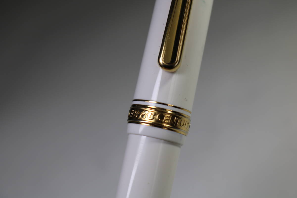 platinum 3776 EF 14K 黒 585 century センチュリー プラチナ 日本製_画像4