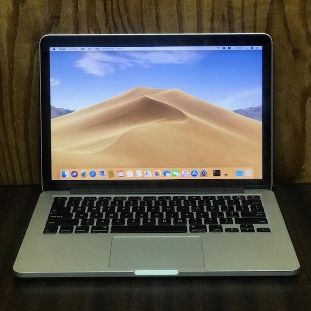 ♪Macbook Pro A1425 Retina i7/メモリ8GB/SSD256GB/Mac OS X 10.14.5♪
