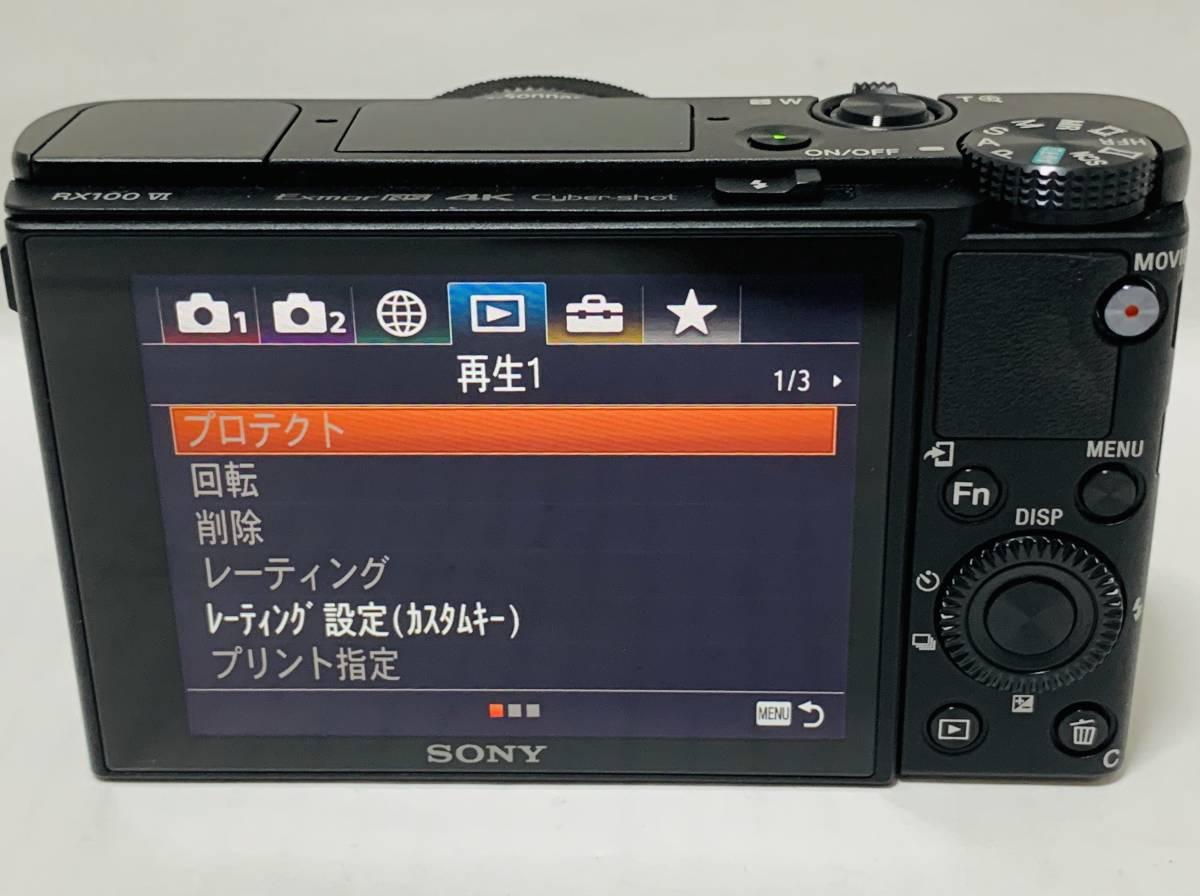 ◇極美品◇ Sony ソニー デジタルカメラ DSC-RX100 M6 _画像3