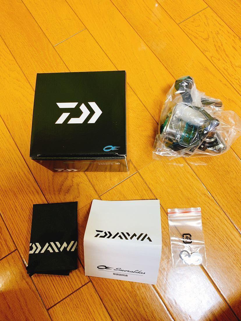 新品未使用 DAIWA エメラルダス 2508PE ダイワ エギング_画像6