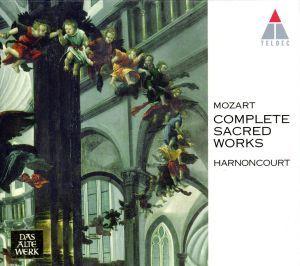 モーツァルト:宗教音楽全集/ニコラウス・アーノンクール_画像1