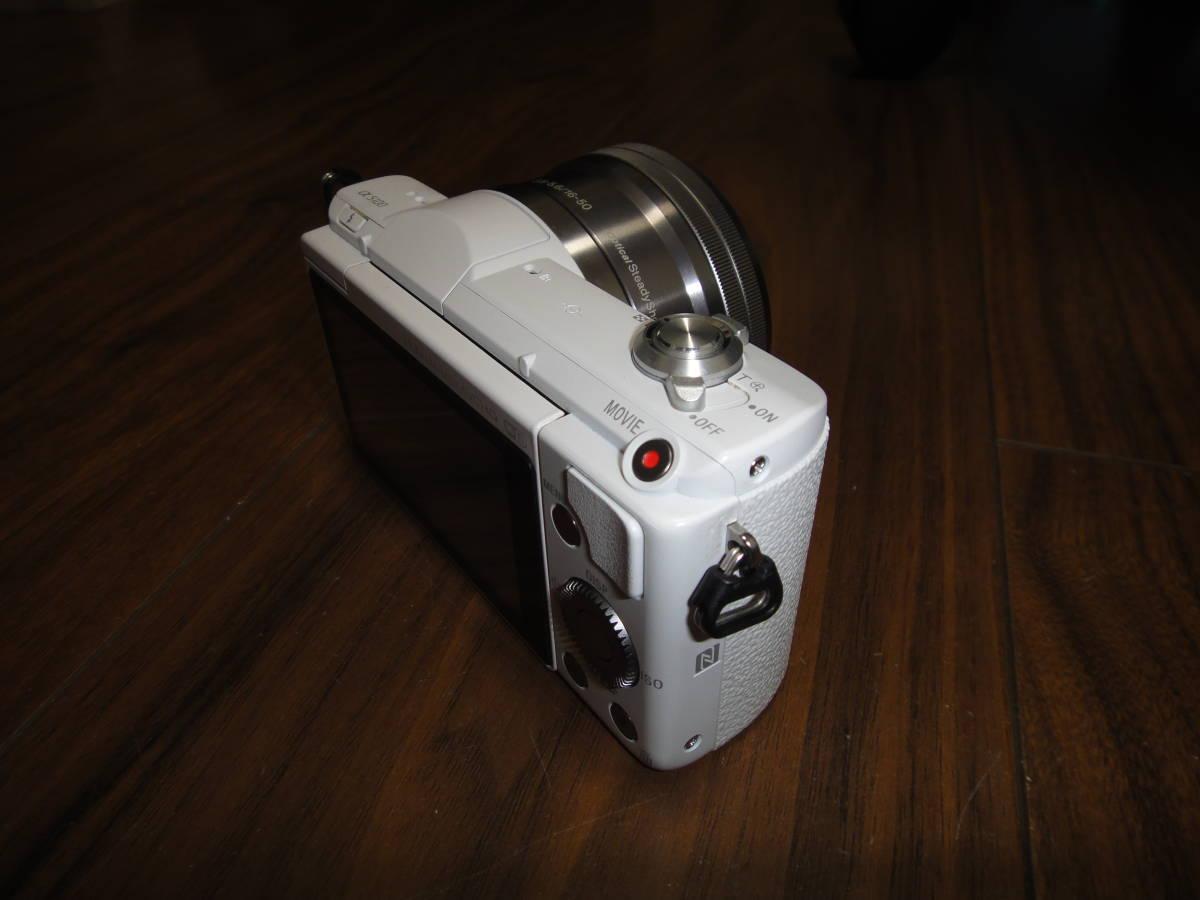 ソニー SONY α5100 ILCE-5100 人気のホワイト Power Zoom Lens Kit 美品_画像4