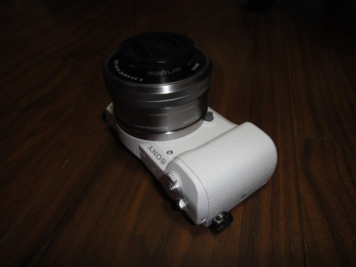 ソニー SONY α5100 ILCE-5100 人気のホワイト Power Zoom Lens Kit 美品_画像8