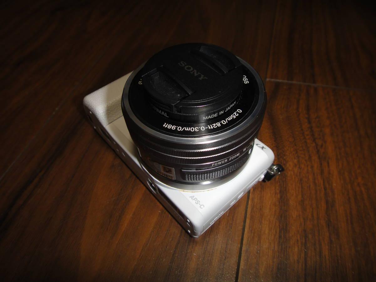 ソニー SONY α5100 ILCE-5100 人気のホワイト Power Zoom Lens Kit 美品_画像6