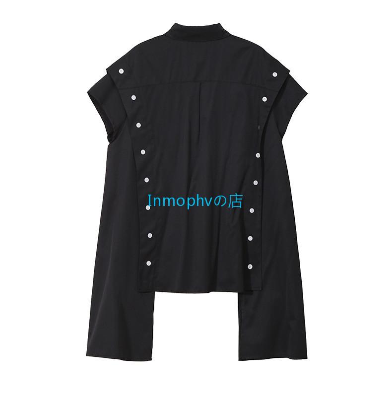 新品登場☆欧米スタイル 特別デザイン シャツ ボタン スタイリッシュ ゆったり Fサイズ カラー選択可 MHBD_画像9