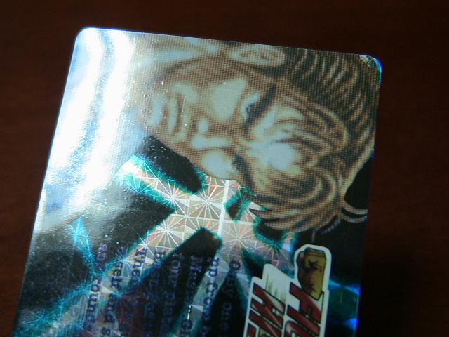 『リクエスト出品可能』レア・マイナーカード・FIGHTER'S HISTORY・No.37・1枚です。(バーコードバトラー対応カード)★カードダスなど_画像3