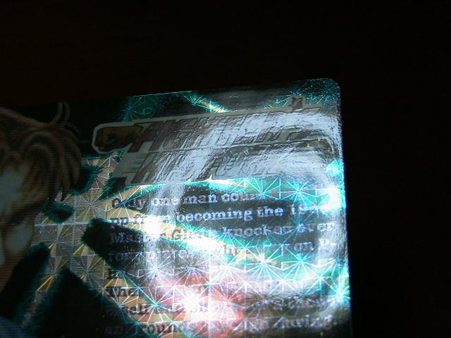 『リクエスト出品可能』レア・マイナーカード・FIGHTER'S HISTORY・No.37・1枚です。(バーコードバトラー対応カード)★カードダスなど_画像6