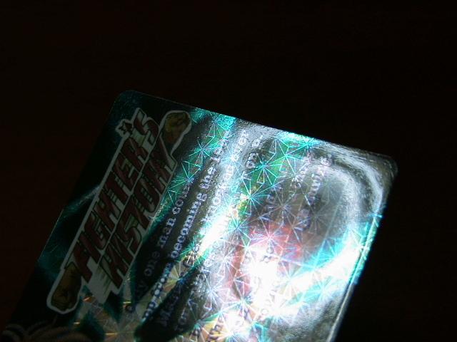 『リクエスト出品可能』レア・マイナーカード・FIGHTER'S HISTORY・No.37・1枚です。(バーコードバトラー対応カード)★カードダスなど_画像7