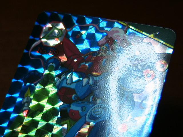 『リクエスト出品可能』ロックマンX3カードダス(1995)・No.89・1枚です。★PPカード・バンプレストカード・ヒーローコレクションなど_画像4