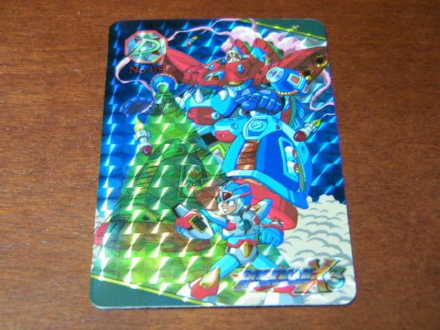 『リクエスト出品可能』ロックマンX3カードダス(1995)・No.89・1枚です。★PPカード・バンプレストカード・ヒーローコレクションなど