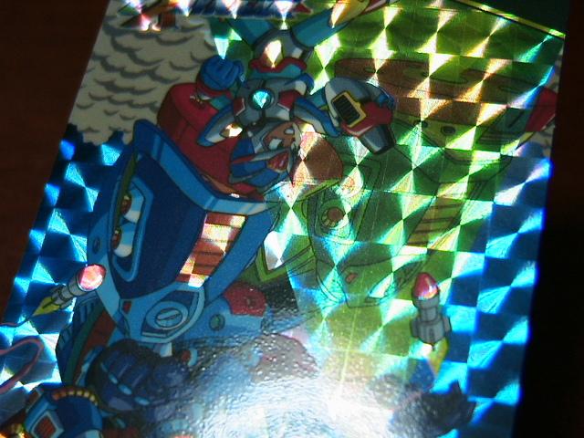 『リクエスト出品可能』ロックマンX3カードダス(1995)・No.89・1枚です。★PPカード・バンプレストカード・ヒーローコレクションなど_画像8