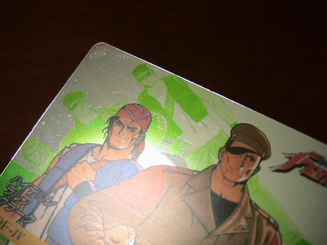 『リクエスト出品可能』マイナーカード・KOF'94カード・No.4・1枚です。(SNK・ユウYUU・格闘・格ゲー)★カードダス・PPなど_画像7