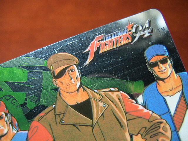 『リクエスト出品可能』マイナーカード・KOF'94カード・No.4・1枚です。(SNK・ユウYUU・格闘・格ゲー)★カードダス・PPなど_画像9