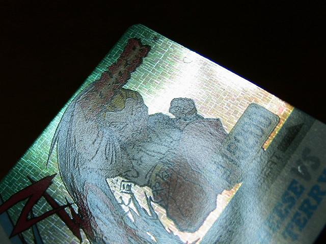 『リクエスト出品可能』餓狼伝説・バーコードバトラー対応Ⅱカード・No.33(SNK・タカラ・格闘・格ゲー)★カードダス・PPなど_画像7