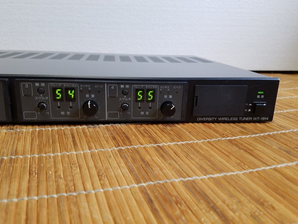 TOA WT-1814 ダイバシティワイヤレスチューナー 現状品_画像5