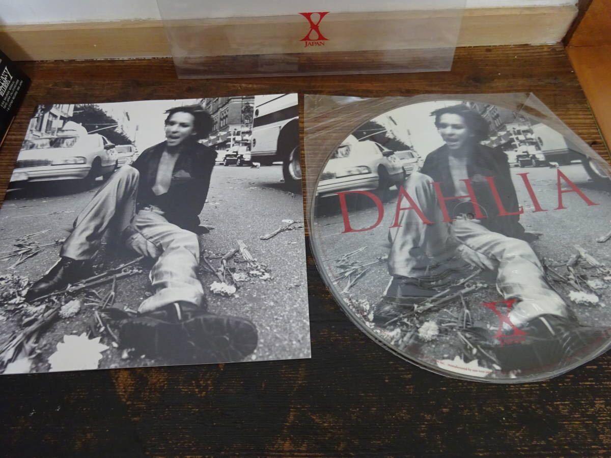 X JAPAN「DAHLIA」 ピクチャー盤 YOSHIKI DJ アナログ レコード LP_画像3